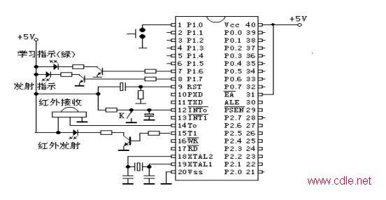 制器电路原理图
